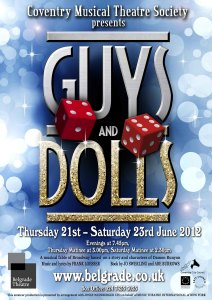 Guys and Dolls 2012